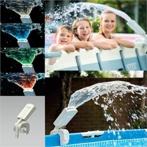 28089 Фонтан с многоцветной подсветкой для бассейна Intex 28089 Multi-Color Led Pool Sprayer