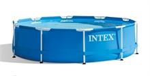 28212 Каркасный бассейн круглый  Intex, 366х76см, фильтр-насос картр 2006 л/ч (28710, 28218)