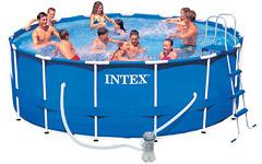 28236 Каркасный бассейн Intex 457х122