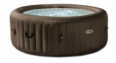 Надувной СПА бассейн INTEX PureSpa Jet Massage + Система хлоргенерации Salt Water System, арт. 28424