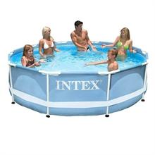 28700 Каркасный бассейн круглый  Intex, 305х76см