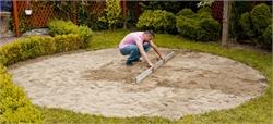 4444 Подготовка площадки-подушки из песка
