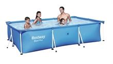 56404 Каркасный бассейн прямоугольный BestWay, 300х201х66см