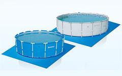 58002 Подстилка для надувных и каркасных бассейнов 58002, 396см.