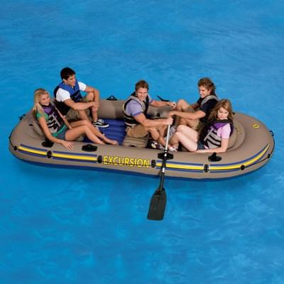68325 Надувная лодка Excursion 5 Set 366х168х43 см.