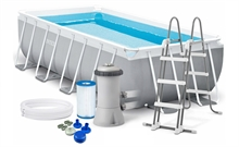 26788 Бассейн каркасный Intex Rectangular Prism Frame Pool - 26788.26776 400х200х100 см Бассейн каркасный Intex Rectangular Prism Frame Pool 400х200х100 см